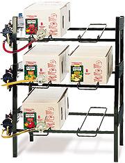Bag In Box Syrup Racks